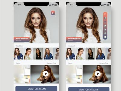 Music App Design android apple ui design music app design