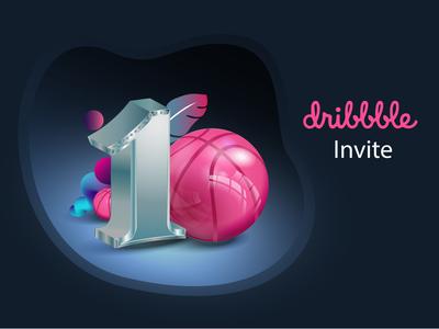 1 Dribbble Invite