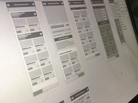 E-Commerce Wireframes