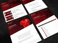 Website for Soccer Club