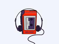 Walkman Tape Player