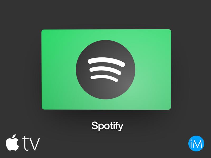 spotify apple tv