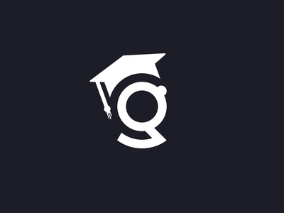 G Graduation Logo typography logotype minimalist lettermark letter idea educational branding icon education logo g logo minimal logo design clean branding educational education graduation cap g letter