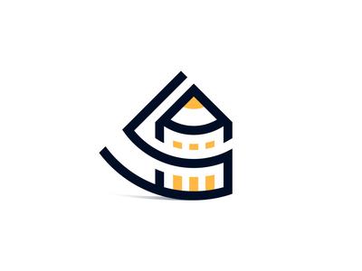 Art Shape Logo Design minimal logo design vector illustrator s letter a letter monogram mark symbol logo mark logo mark symbol illustraion shapes brand art shape shape design art clean design logo