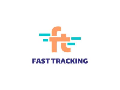 Fast Tracking Logo Design vector logo service billing anesthetic transaction transfer movement money modern minimalist logo minimalistic logo identity fintech business branding finance bank tracker tracking fast
