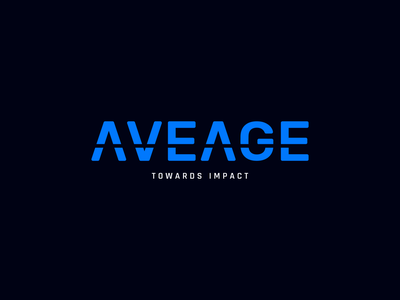 AveAge Digital Agency Logo wordmark mark agency logo logotype typeface brand design branding and identity identity negative space minimal impact branding towards clean logo agency digital agency digital branding