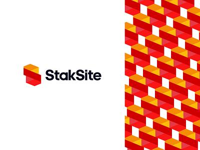 StackSite Logo + Corporate Pattern real estate letter mark monogram structural structures residential resident residence logo logo designer logomark geometric icon symbol brand branding corporate pattern logo design