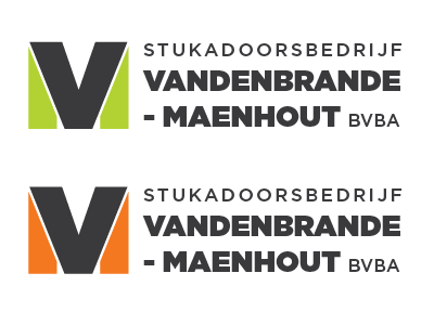 VM monogram  vm monogram logo