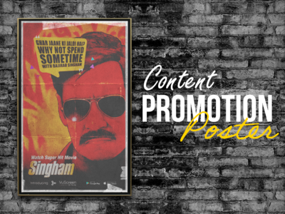 Content Promotion Poster