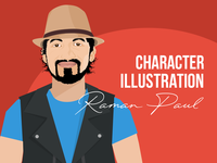 Male Character illustration