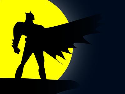 Batman Illustration illustrator illustration art illustration fantasy illustration artwork adobe illustrator superhero dc marvel batman illustration