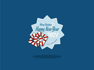 New Year Sticker ui icon iconography