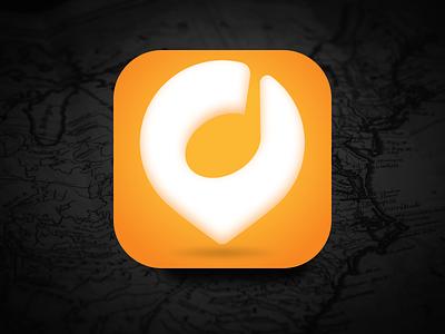 The Explorer iOS App Icon Design guide travel app illustration logo icon vector ui icon branding iconography app icon ui uidesign product design icon design ios