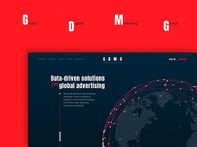 GDMG Redesign graphic design webdesign ux ui