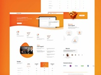Contr Agent Landing page