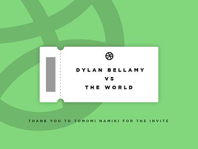 My Ticket to the Game! tomomi namiki the world dylan bellamy ticket to the game first shot world dylan ticket game green first debut