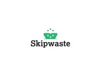Skipwaste logo design