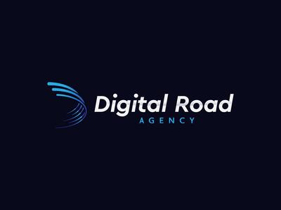 Digital Road logo design