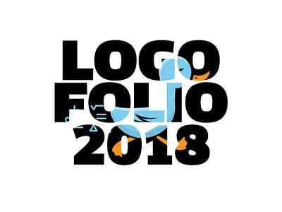Logofolio 2018 brand typography vector graphic art fun simple shot design mark dribbble idea logodesign illustration inspiration creative logofolio identity logo design logo