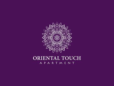 Oriental Touch logo typography graphic design art idea brandidentity mark mandala illustration shot brand fun simple vector dribbble creative inspiration identity logodesign logo