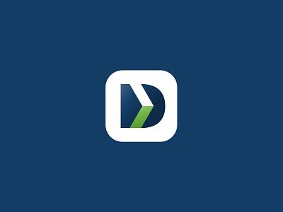 DEVHD logo symbol symbol brandidentity d letter letter arrow brand shot branding graphic vector fun simple dribbble design identity inspiration creative idea logodesign logo