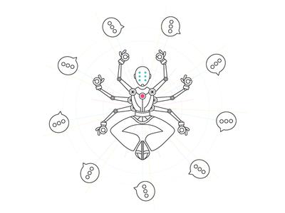 Ultimate Chatbot answer peaceful robot meditate ultimate overwatch zenyatta zen chat online chatbot