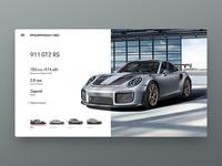 DailyUI Porsche Concept
