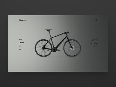 DailyUI Bikeshop