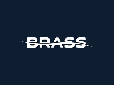 Logo for Brass krasnodar logo wave water sauna swiming pool swim brass