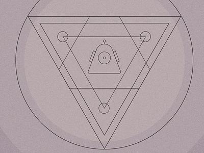 Robot-o  outlines logo icon robot
