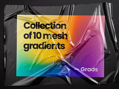Grads - Free pack of soft gradients gradients soft free typography branding web ui graphic grads