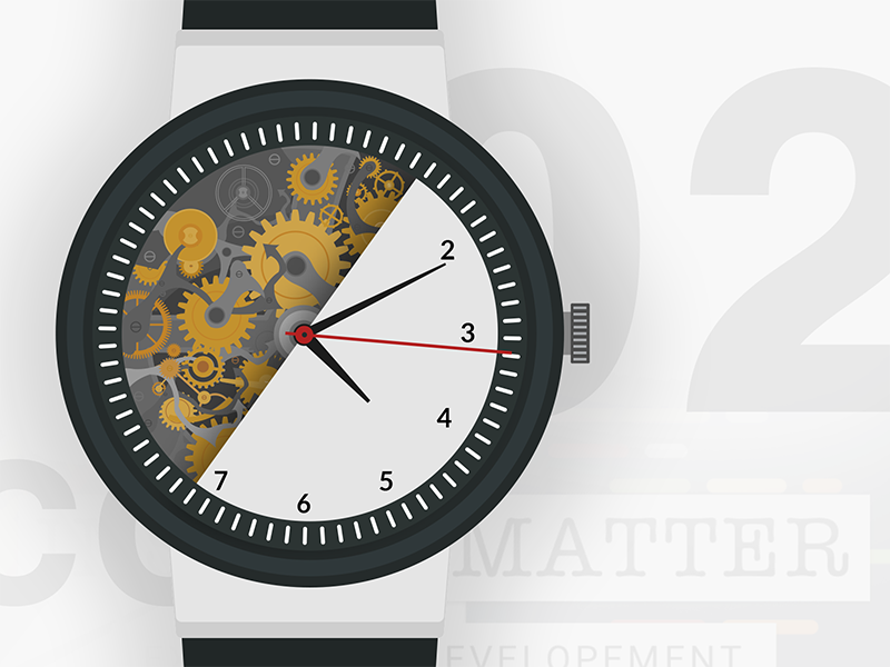 Watch mechanism - Illustration ai vector web art icon illustration watch inside watch mechanism watch