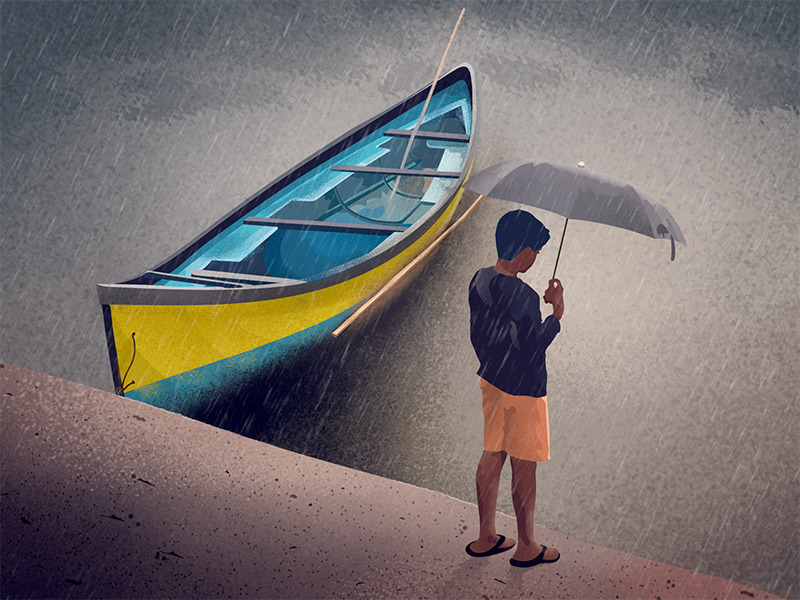 Monsoon - Illustration