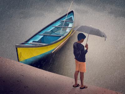 Monsoon - Illustration