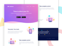 Landing Page | Jukebox