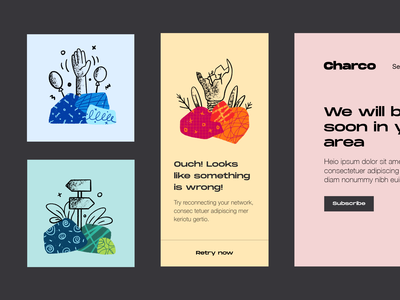 Charco - Free Illustrations for your app