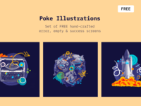 Poke - Free Illustrations