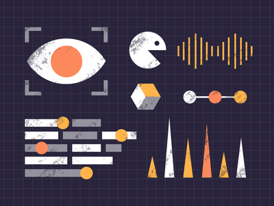Artificial intelligence   Dash illustrations free learning machine gun app web print graphic poster intelligence artificial illustrations dash