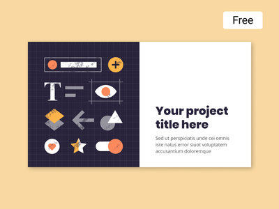 Dash FREE illustrations   Deck Cover cover deck design presentation free icons ui vector graphic illustration
