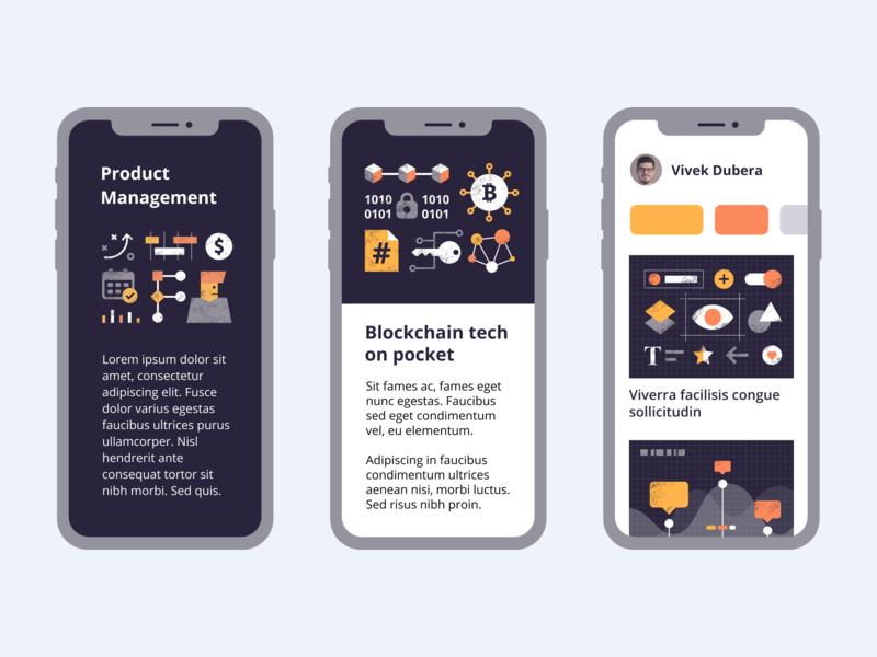 Dash FREE illustrations analytics ui components blockchain project manager blog editorial illustrations free dash