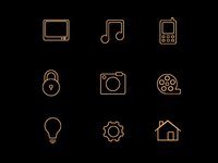 Home Device Icons