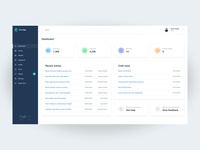 Craft CMS Dashboard Design