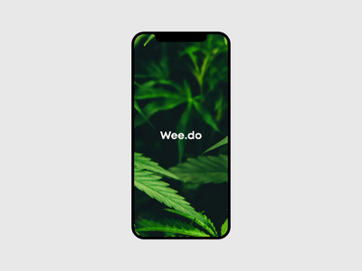 Track Your Dosage App Login Interaction motion design interaction design concept design mobile application product design signin page smoke marijuana app cannabis weed track app ios app login screen signin screen sign in