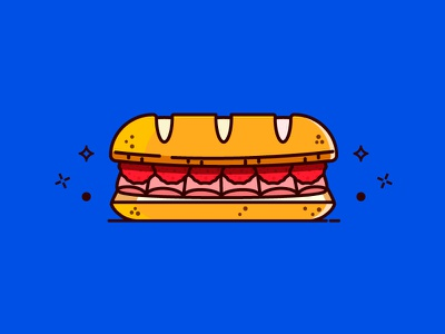 Sandwich of Death icon meatballs recipe regular show illustration food