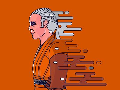 Kaecilius benedict cumberbatch movies magicl super heroes illustration portrait mads mikkelsen
