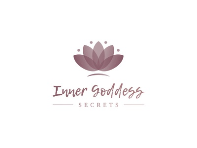Logo Concept logo woman secrets people happy gifts nature