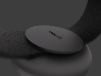 melm watch keyshot fusion360 render industrial design watch