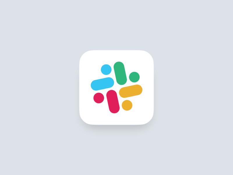 Slack Alternative Dock Icon redesign logo rebrand slack