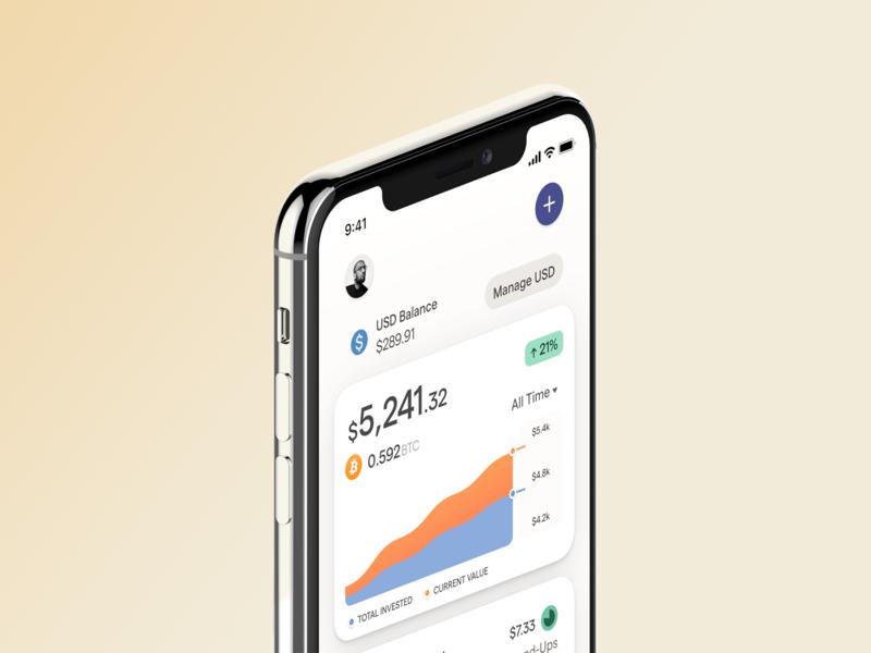 Donut — Bitcoin made easy finance design financial technology fintech prototype uidesign ui modern clean product design job berlin ios app hiring crypto bitcoin
