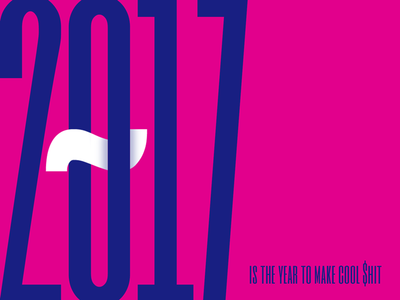 Typographic Explorations 1 toronto font typeface 2017 shit cool colours bold big layout typography type